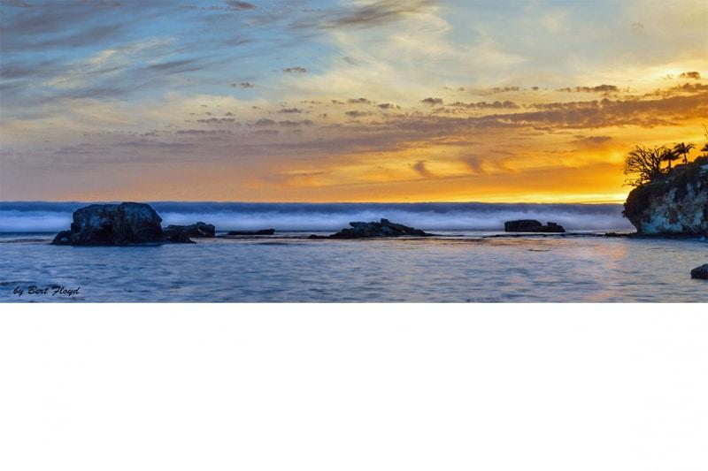 Be Prepared: Marine Layer, Shell Beach, California