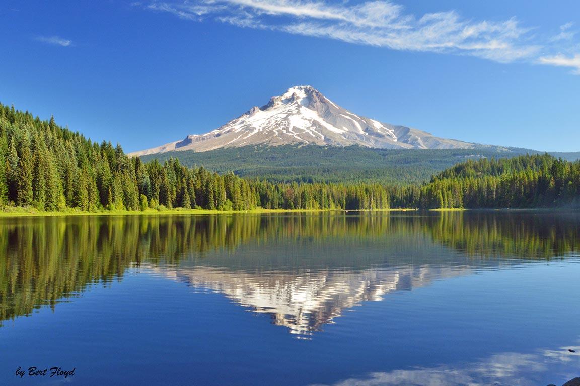 Reflection: Mount Hood, Oregon