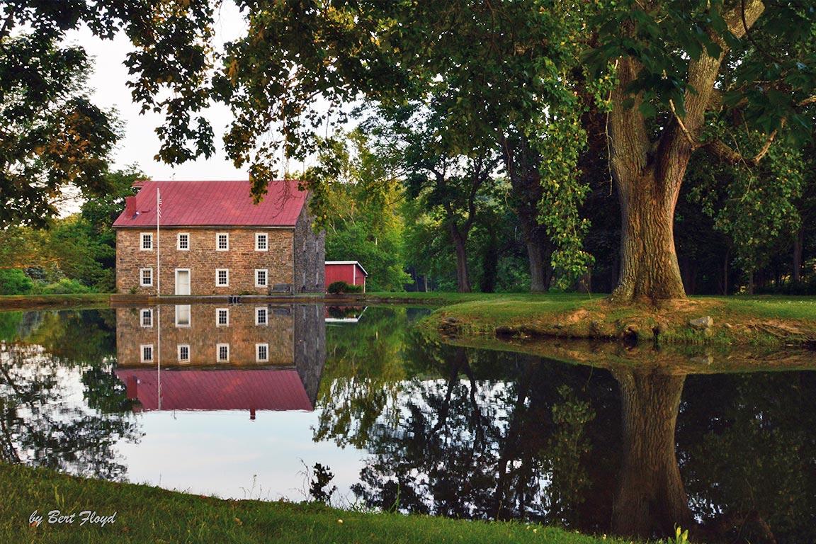 At Rest: Auburn Grist Mill, Pennsylvania