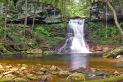Rest: Sullivan Falls, Pennsylvania