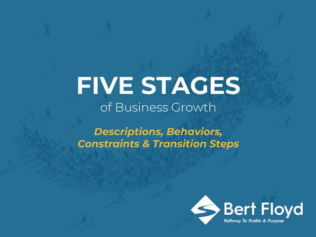 Five Stages of Business Growth - Free Ebook by Bert Floyd